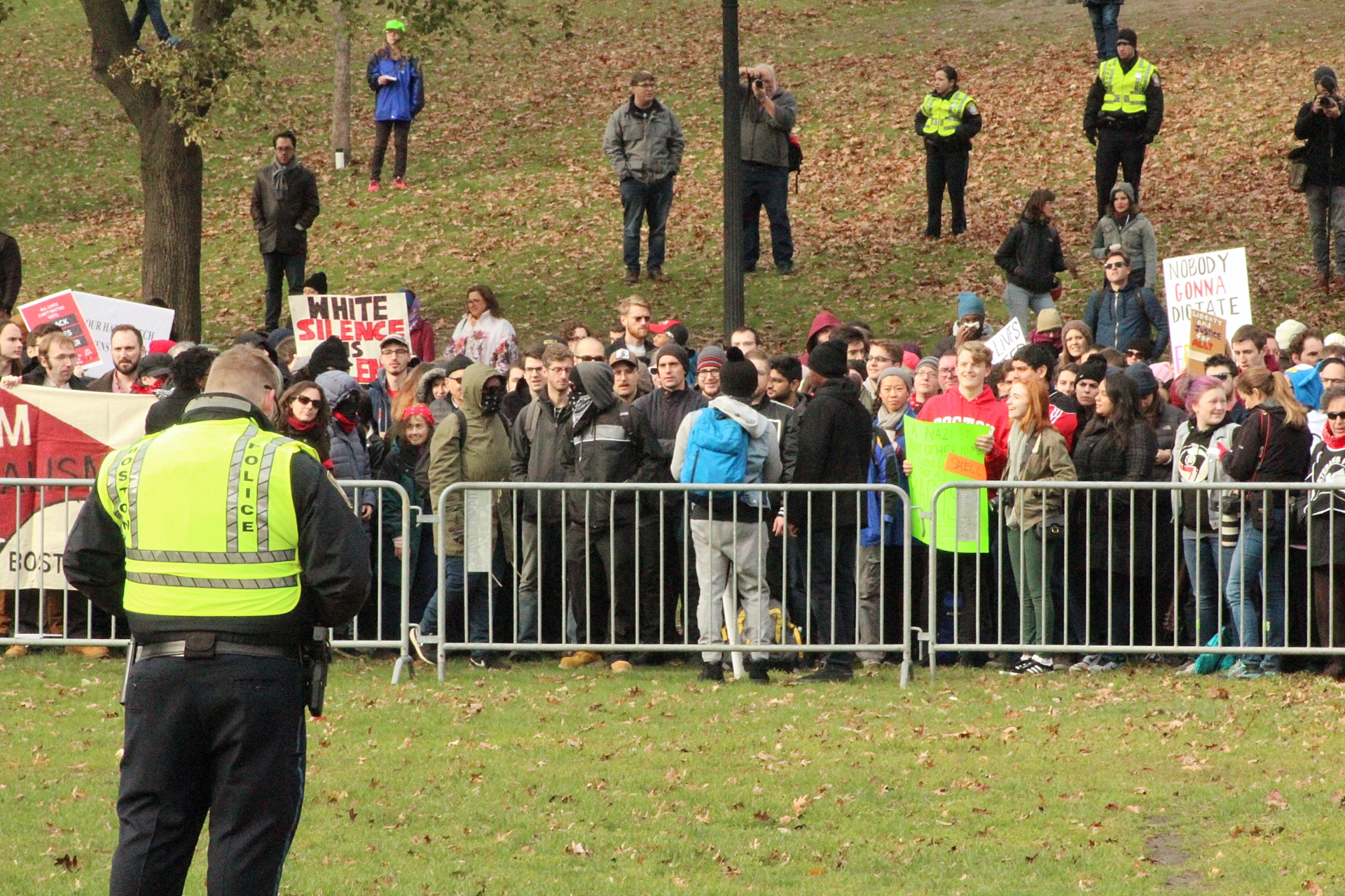 2017-11-18 Boston Common Free Speech Rally 01