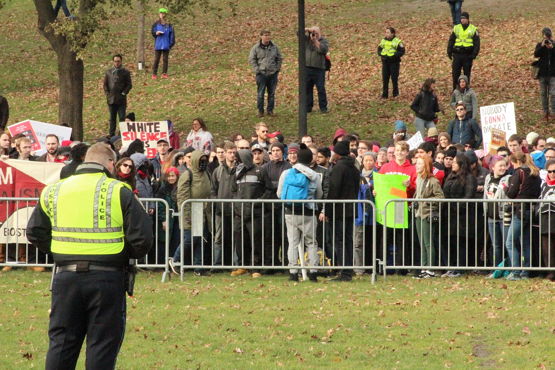 2017-11-18 Boston Common Free Speech Rally 01