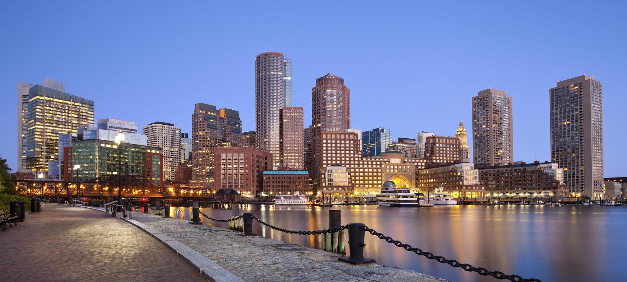 Boston skyline photo