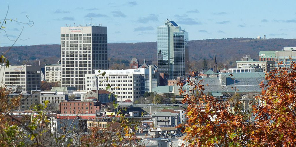 Downtown Worcester, courtesy of Wikipedia