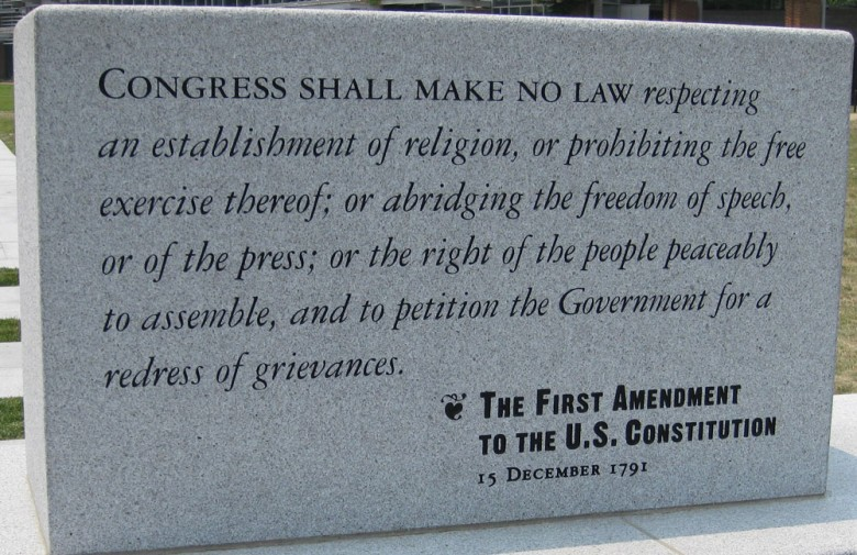 amendment for free speech  »  7 Image » Creative..!