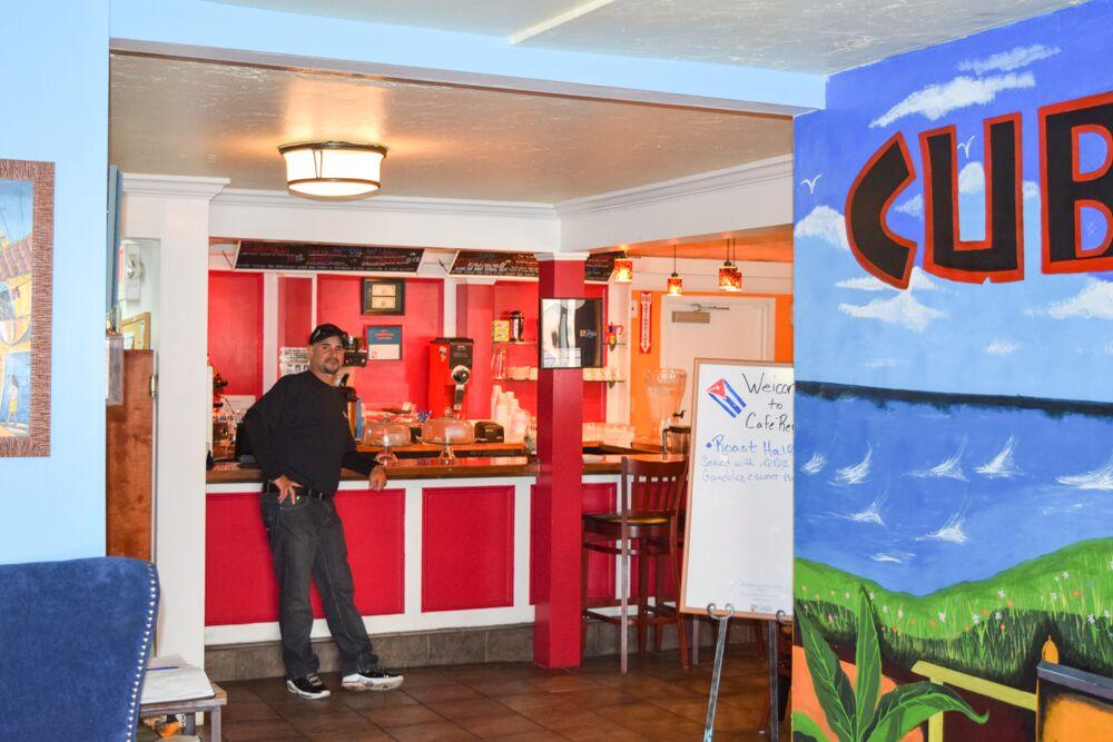 Cafe Reyes interior (Ted Bunker)