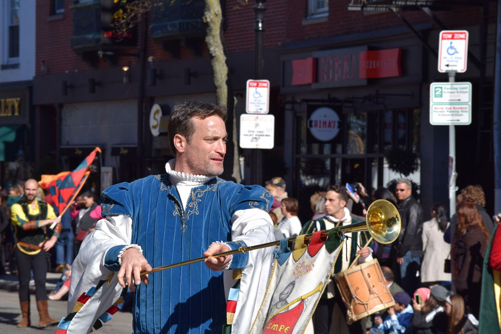 Boston's North End held its annual Columbus Day Parade on Sunday. (Joshua Schrock, NewBostonPost)