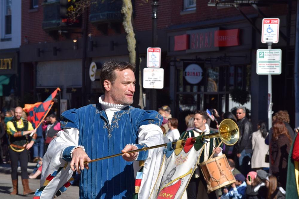 Boston's North End held its annual Columbus Day Parade on Sunday. (Joshua Schrock, NewBostonPost)