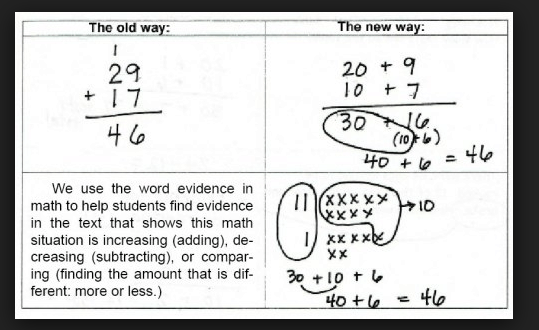 An example of a correct PARCC answer.