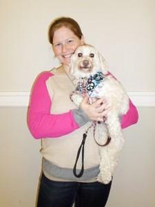 Dana Owens with her dog Dakota (Courtesy of PetPals)