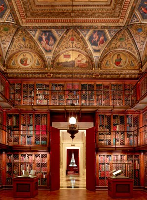 The East Room of the Morgan Library & Museum. (Courtesy of the Morgan Library & Museum)