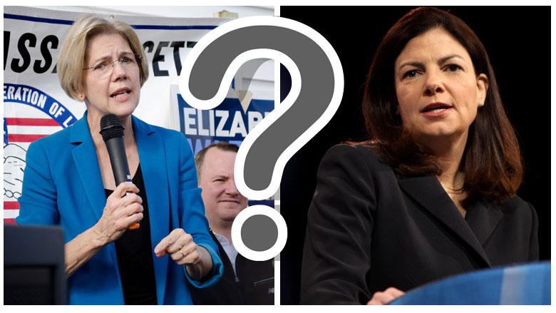 Both Elizabeth Warren and Kelly Ayotte have yet to endorse a 2016 presidential candidate.