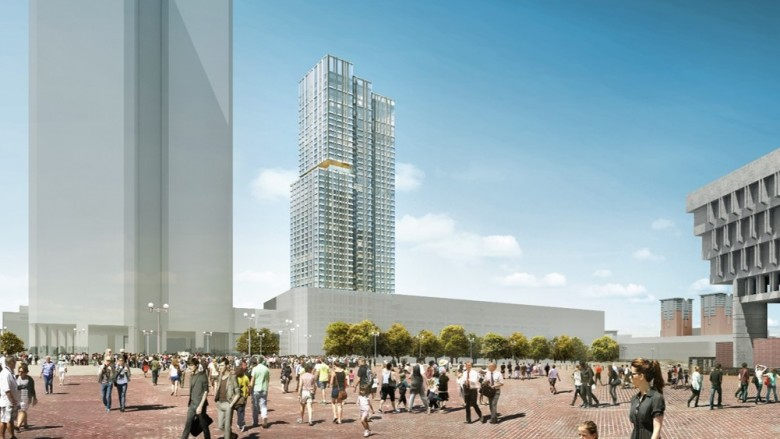 Towers Approved To Replace Government Center Garage Newbostonpost
