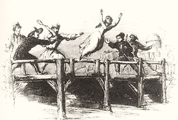 Illustration from Clotel, by William Wells Brown,1853 (Wikipedia)