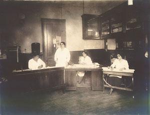 """St. Luke Herald"" newspaper office. (Maggie L. Walker National Historic Site)"