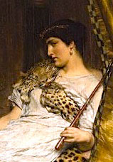 From, Antony and Cleopatra, 1883 by Lawrence Alma-Tadema (Wiki)