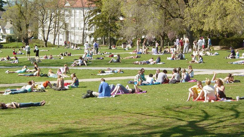 Students at James Madison University (Wikipedia)