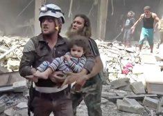APTOPIX Mideast Syria_Bunk