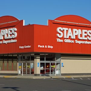 Staples To Be Sold