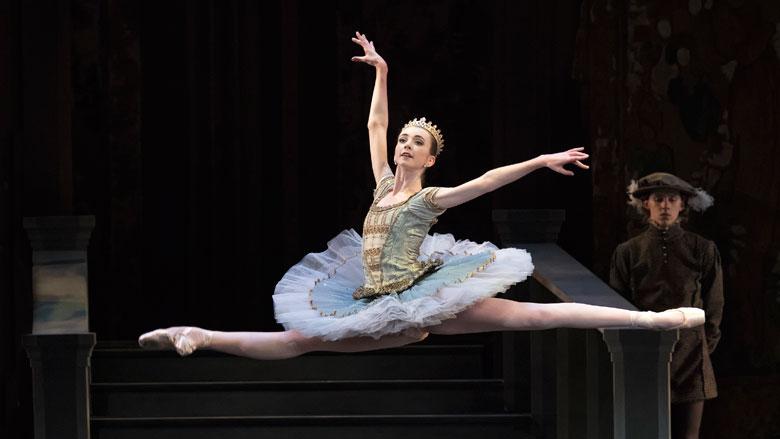 Addie Tapp in Mikko Nissinen's Swan Lake; photo by Gene Schiavone, courtesy Boston Ballet.
