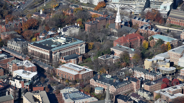 Harvard Yard (Courtesy of Wikipedia)