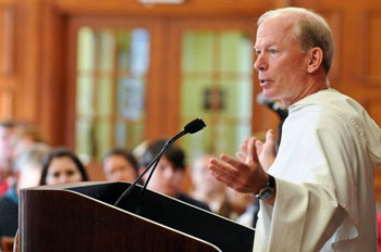 Rev. Brian J. Shanley, O.P., President of Providence College (Credit: Providence College)