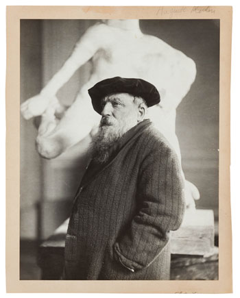 Auguste Rodin (Courtesy of the Peabody Essex Museum)