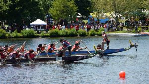 Dragon boat race (photo courtesy of Madeleine Ball, Flickr)