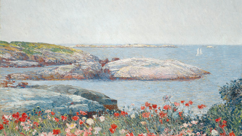 American Impressionist: Childe Hassam and the Isle of Shoals (Courtesy of the Peabody Essex Museum)