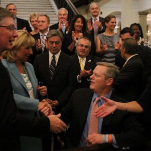 Baker signs law aimed at fostering economic development