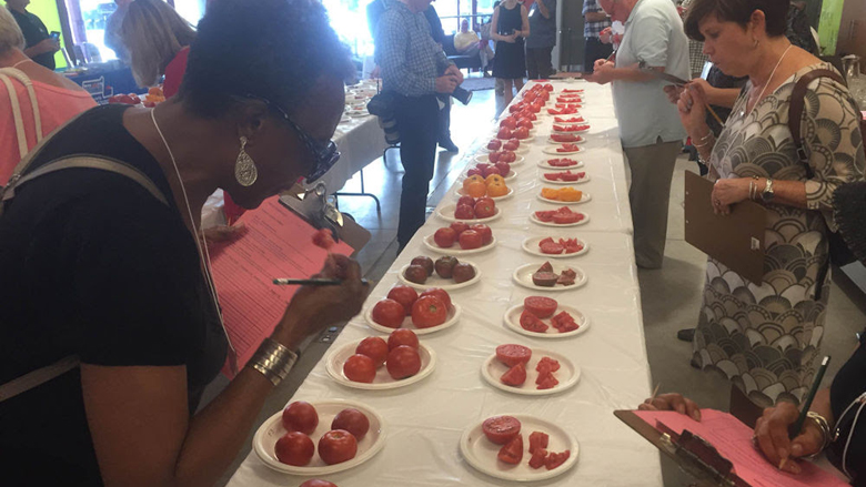 Judges reach verdict — on state's best tomatoes ...