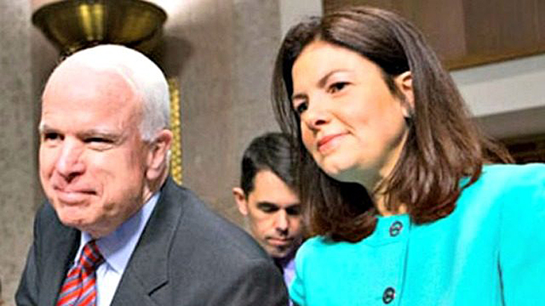Republican U.S. Senators John McCain and Kelly Ayotte (AP)