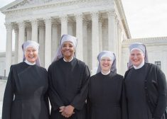 little_sisters_of_the_poor_7_outside_scotus_after_oral_arguments_for_their_case_against_the_hhs_mandate_credit_becket_fund_for_religious_liberty_cna_4_14_16