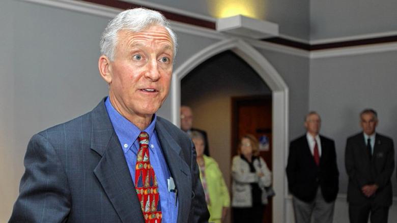 Republican state senator Jim Rubens (AP)