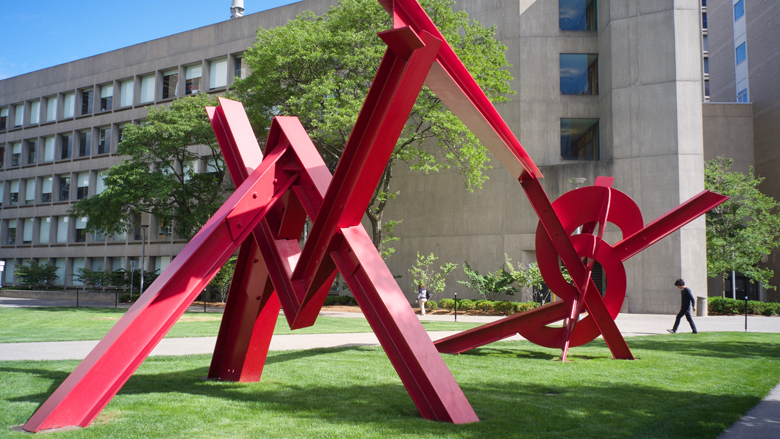 Mark Di Suvero's Aesop's Fables II (Photo by Shane Rossi)
