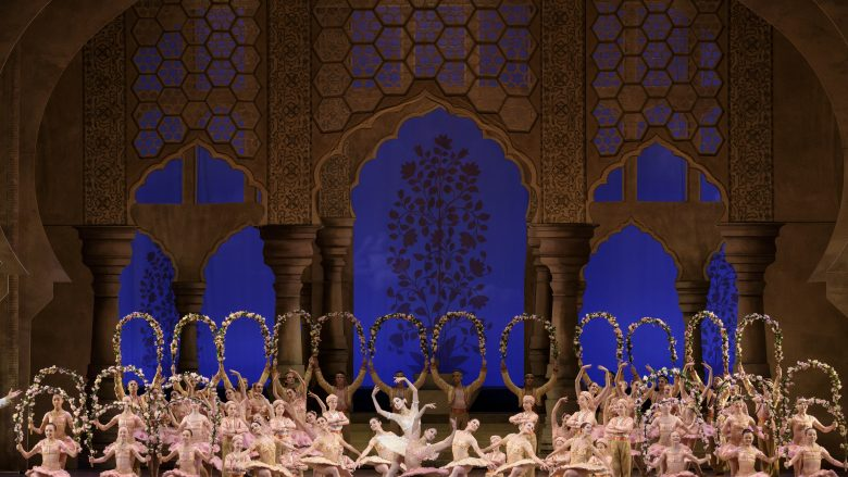 Boston Ballet in Ivan Liška's Le Corsaire; photo by Liza Voll, courtesy of Boston Ballet