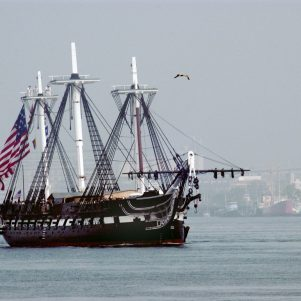 USS Constitution marks Pearl Harbor Day with special event