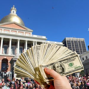 Millionaires' Tax Gets A-O.K. From Massachusetts State Legislators, 147-