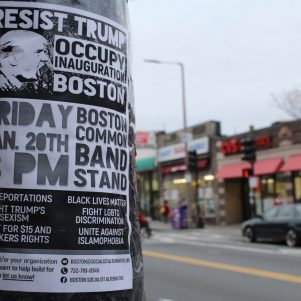 Boston Leftist Groups Mobilizing To Protest, Disrupt Trump Inauguration