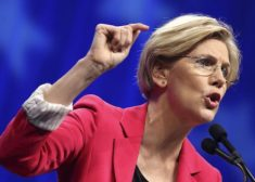 Elizabeth Warren Photo — Pointing and Angry — Saved Friday 2-10-2017
