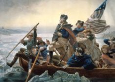 George Washington Photo — Washington Crossing the Delaware — Saved Friday 2-17-2017