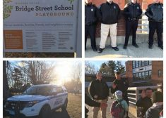 Northampton Police High Five Program Photos — Saved Wednesday 2-22-2017
