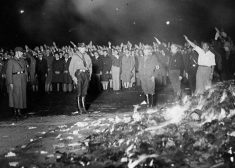 Book Burning Photo — Nazi Germany — Saved Tuesday 3-7-2017