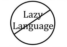 Lazy Language Image — Saved Friday 3-24-2017