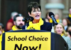 School Choice Speaker Photo — AP — Saved Tuesday 3-7-2017