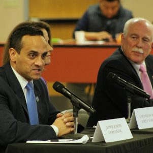 Sparks Fly When Somerville Mayor, Sheriff Talk Immigration