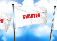 charter, 3D rendering, triple flags