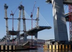Bridge Construction Photo — Tappan Zee Bridge — AP Photo — December 2016 — Saved Wednesday 4-12-2017