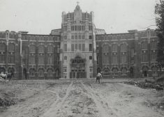 Providence College Photo — Harkins Hall 1918 — Courtesy Providence College