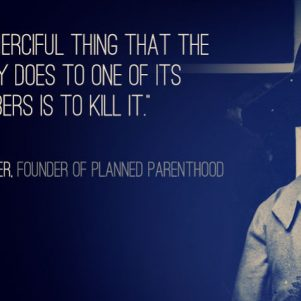 Margaret Sanger, a Credit to Her Race