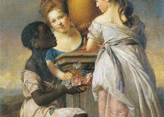 Two Girls and a Black Servant Painting Photo — Africa and Europe — Saved Monday 7-17-2017