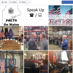 ACLU Sues Maine Governor LePage Over His Facebook Page