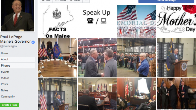 ACLU of Maine Sues Paul Lepage For 'Facebook Censorship'