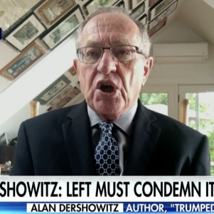 Alan Dershowitz vs. Antifa